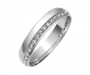 Bague homme diamant or