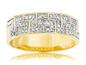 Bague or diamant